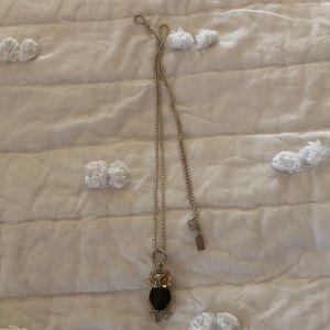 Coach owl necklace